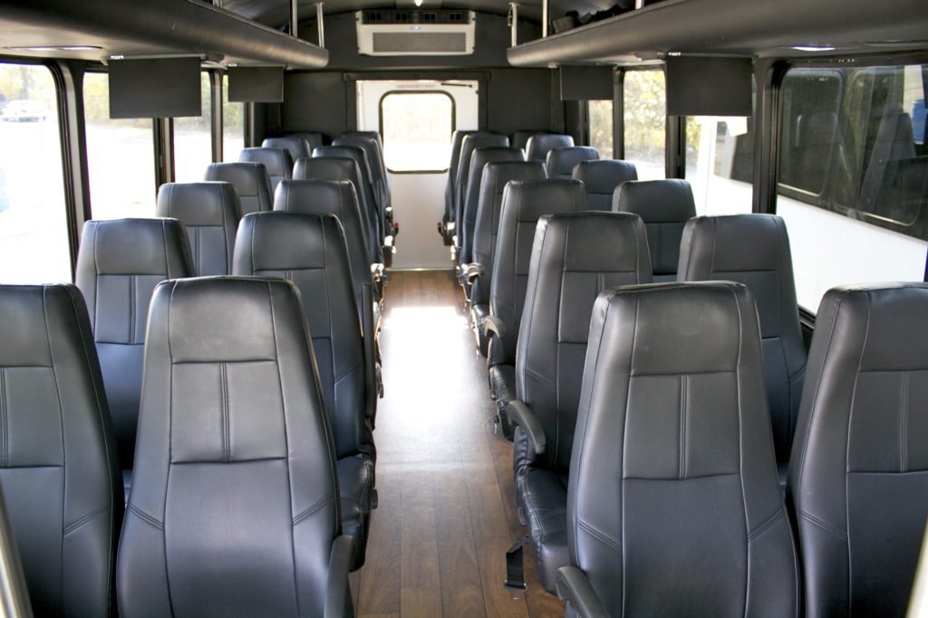 Interior 28 Passenger Executive Mini Coach Bus
