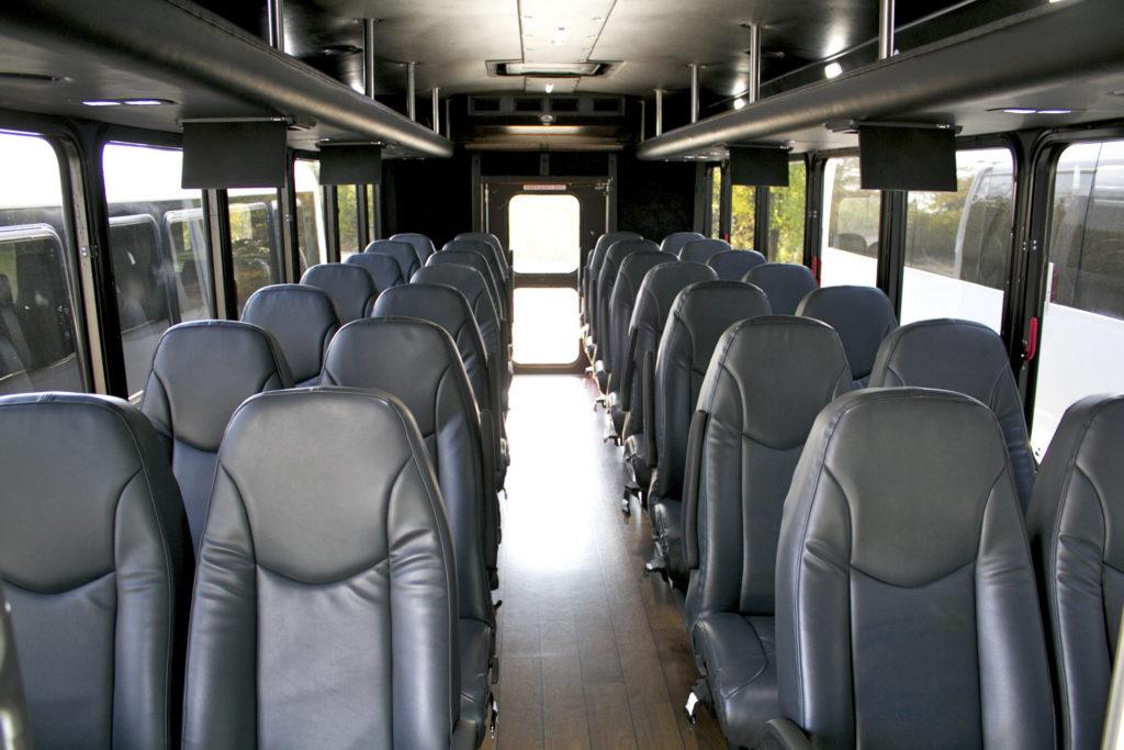 Interior 32 Passenger Executive Coach Bus