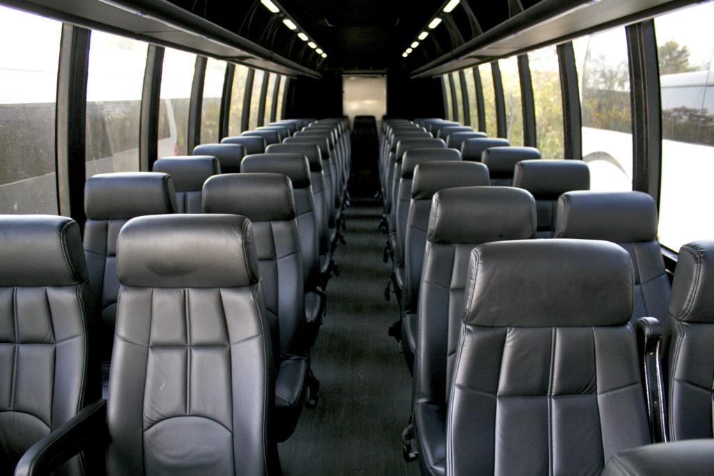 Interior 40 Passenger Executive Coach Bus