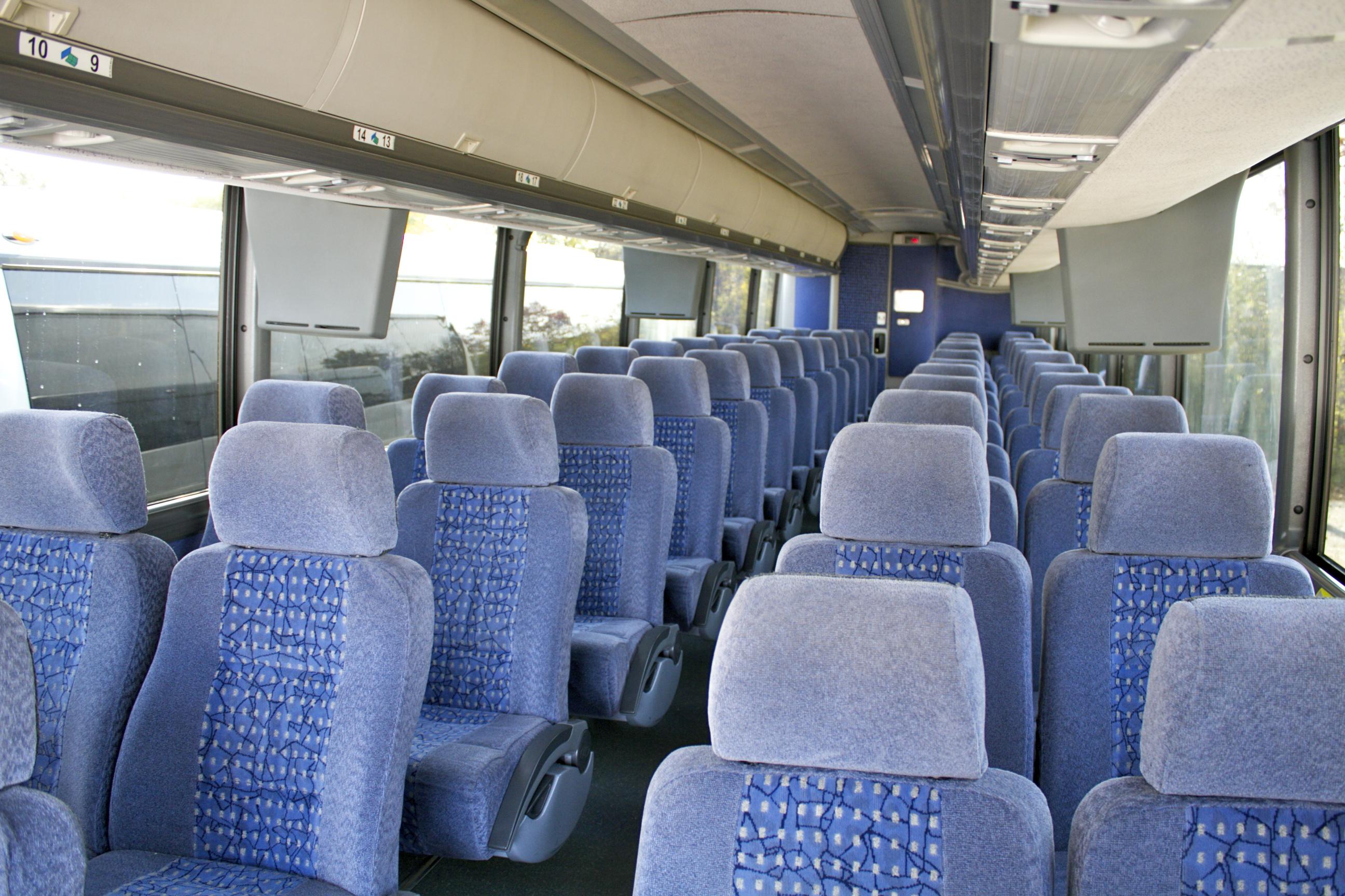 Interior 56 Passenger Motor Coach