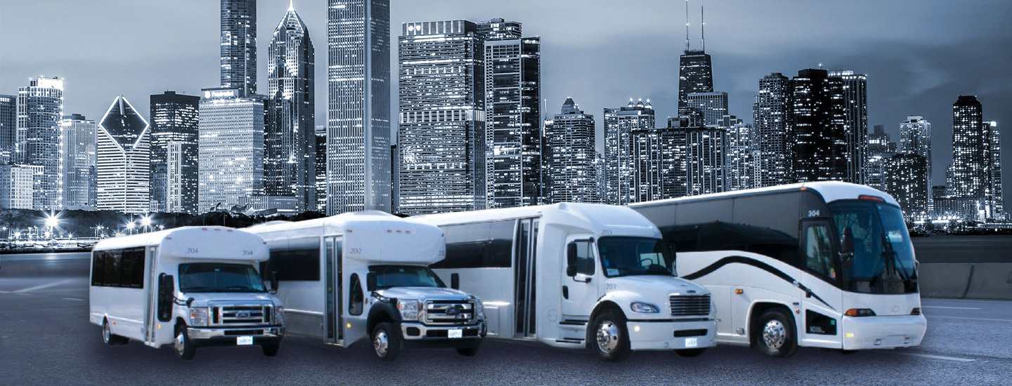 Chicago Motor Coach Bus Rental Company 32 Years In Business