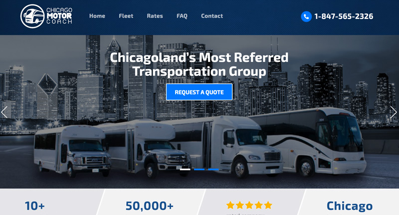 Charter Bus Rental Rates & Discounts | Chicago Motor Coach