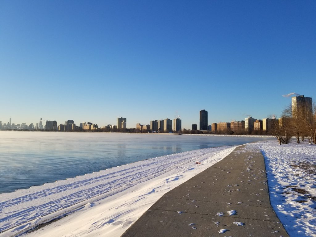 Chicago lake front holiday