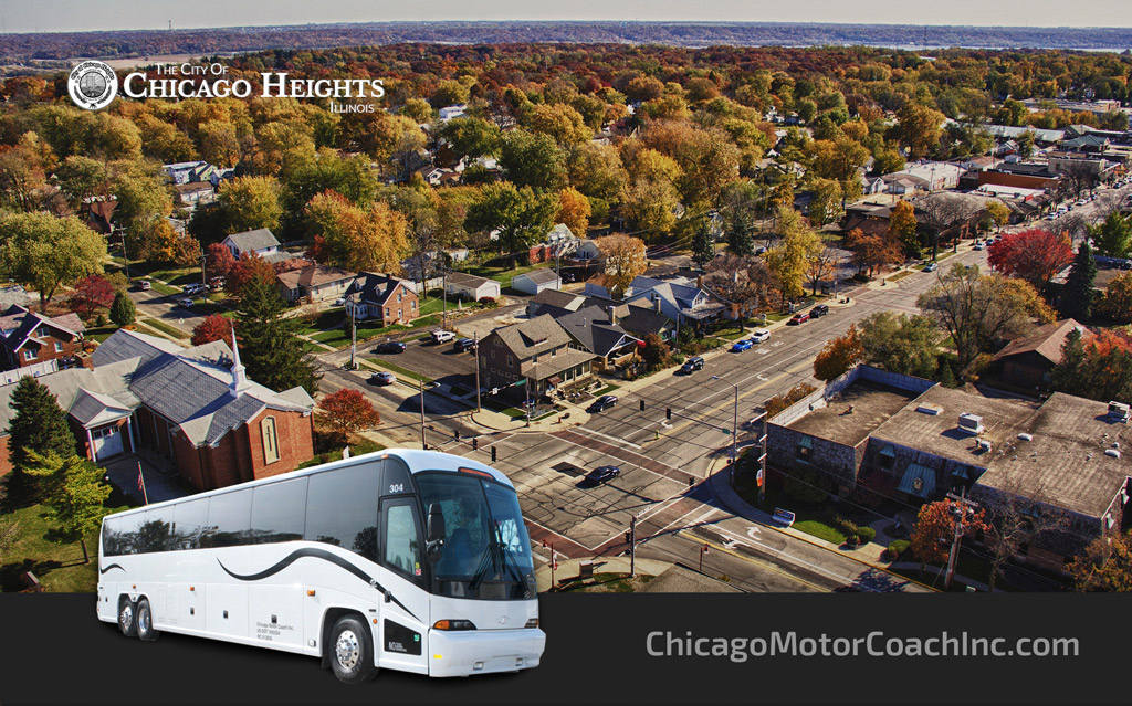 Chicago Heights Charter Bus