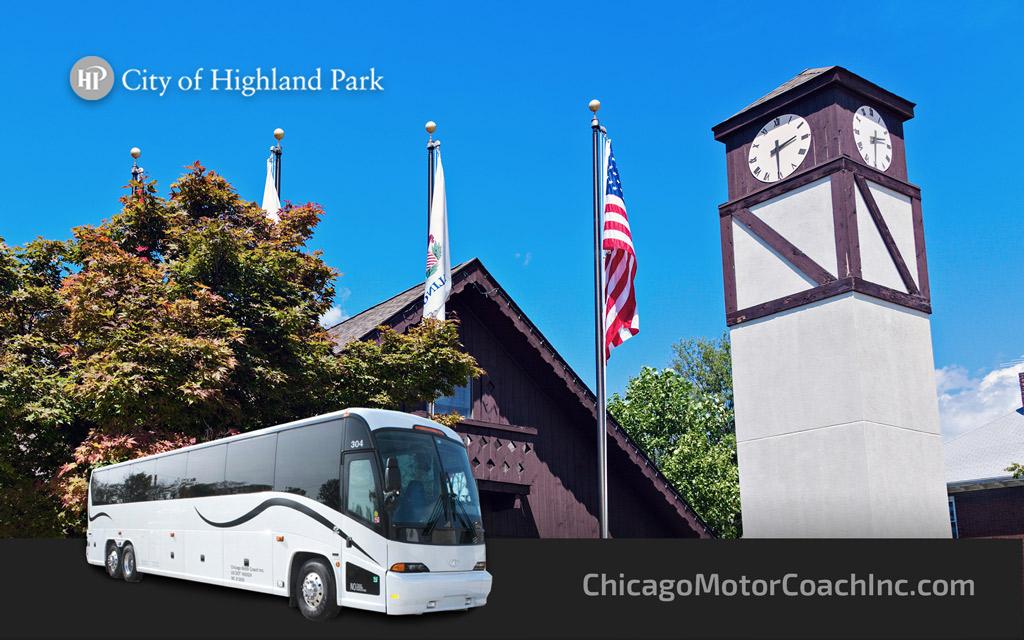 Highland Park Charter Bus