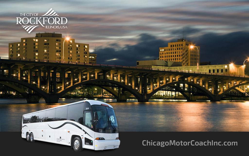 Rockford Charter Bus