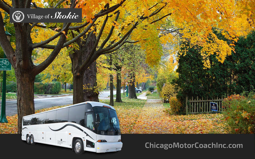 Skokie Charter Bus